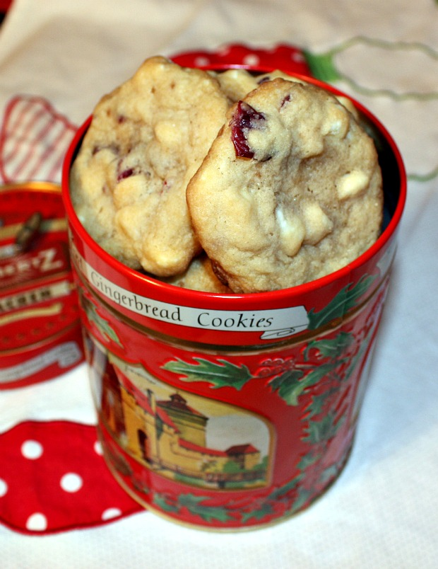 Recipes For Divine Living: White Chocolate Cherry Chunk ...