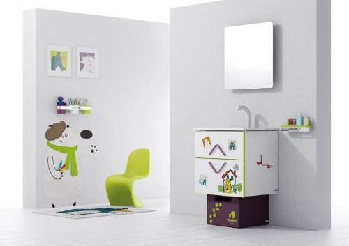 Muebles para ba o infantil ideas para decorar dise ar y - Cuarto de bano infantil ...
