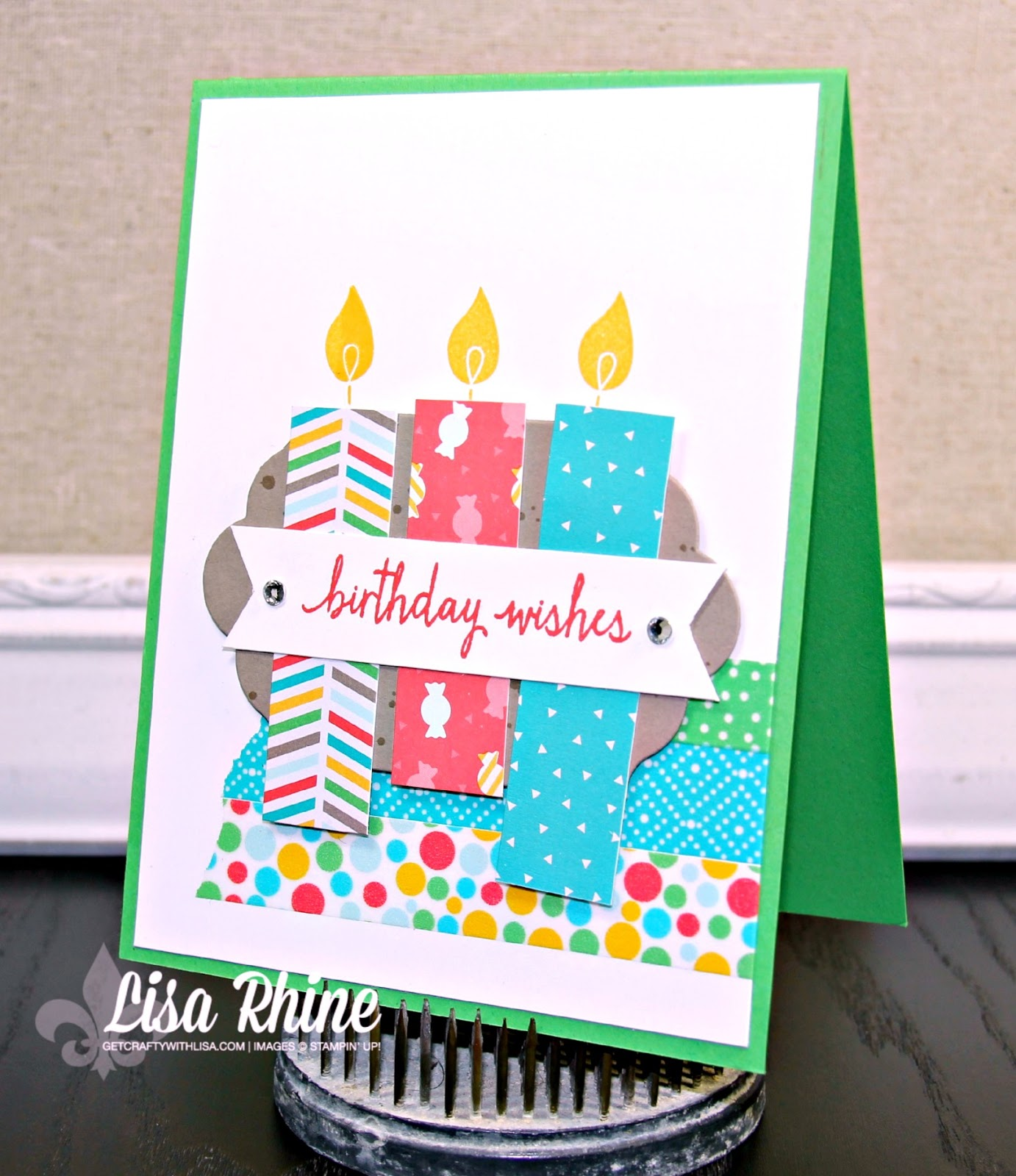 We Made This Card In My July Class Past Saturday And Attendees Loved It I Borrowed Design From A Saw On Pinterest By Jessica