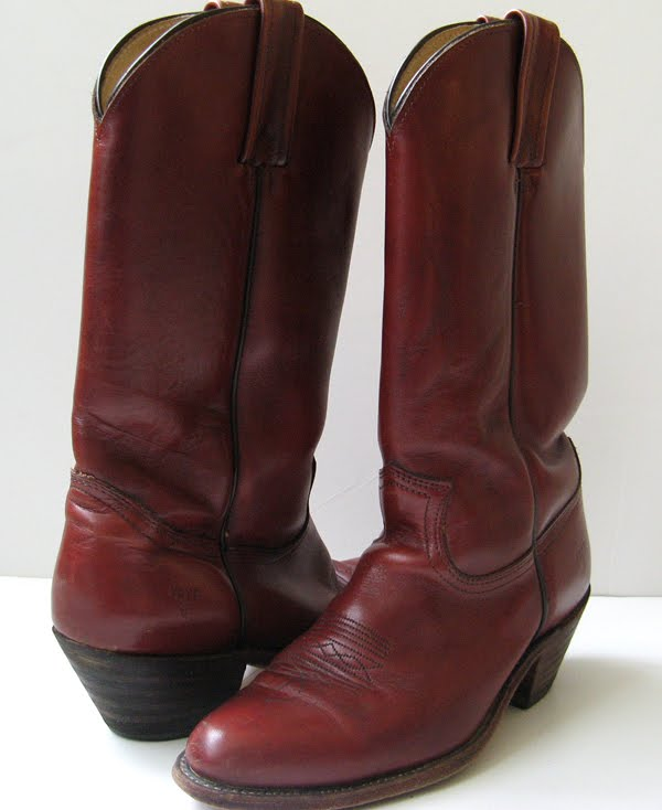 closet vtg frye cowboy boots knee high boots