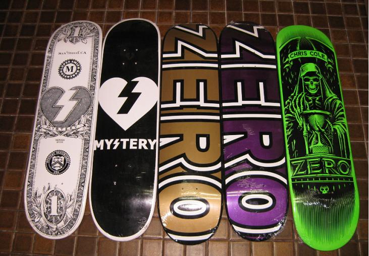 Zero Skateboard Graphics ZeroZero Skateboard Graphics