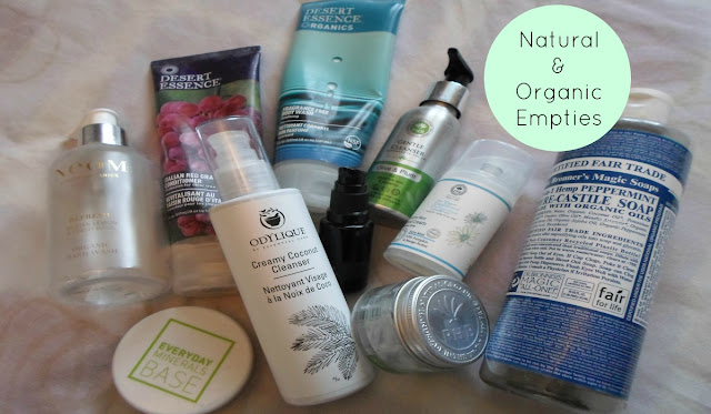 Sugarpuffish Natural and Organic Skincare Empties Video