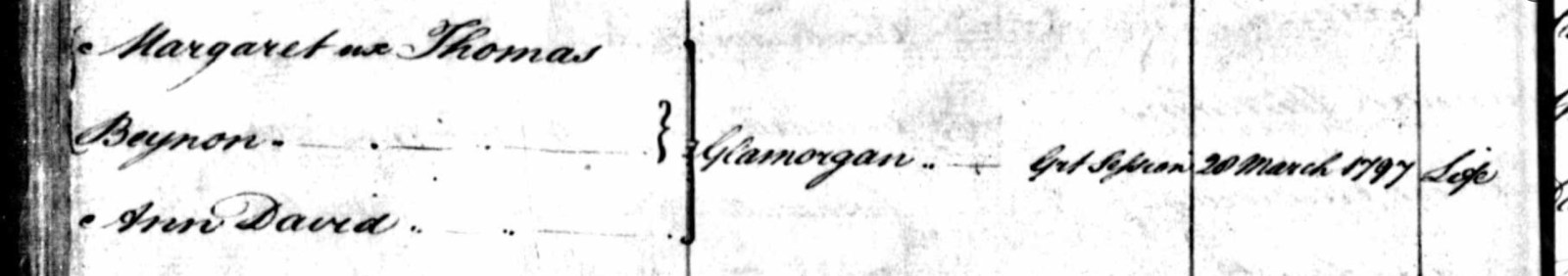 Register of Arms in NSW, 1802 | Random Genealogy on