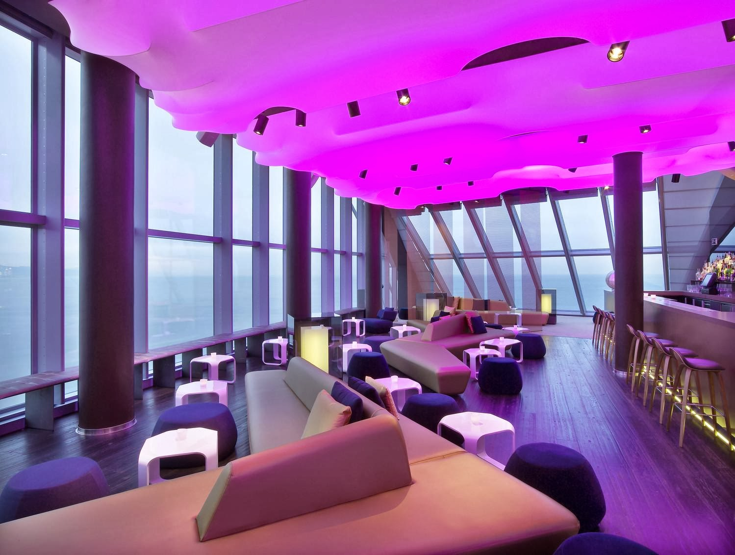 Hortibus hotels design le w a barcelone for Hotel design a barcelone