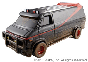 Mattel Hot Wheels Comic-Con SDCC 2013 Exclusive A-Team Van