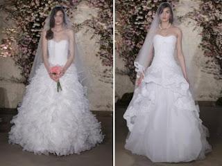 فساتين زفاف جديدة اشيك فساتين زفاف 2013
