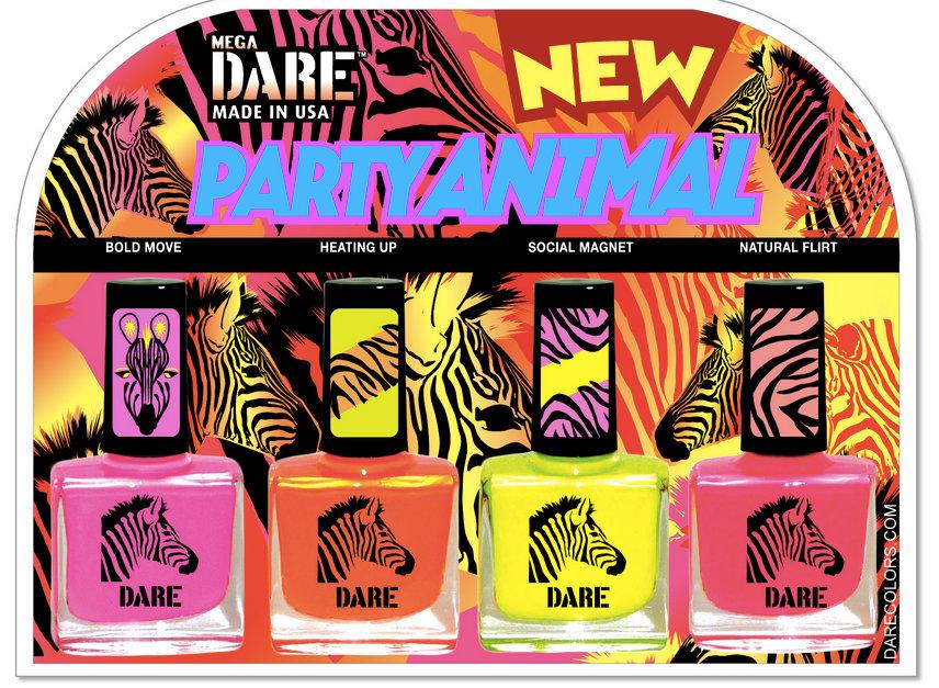 misplacedblog: Dare Party Animal Nail Polish Set