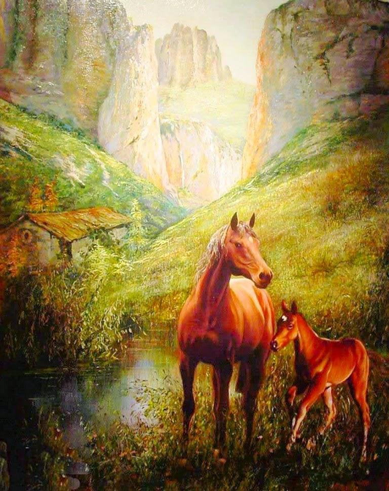 pinturas-y-cuadros-de-caballos