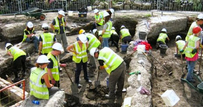 Remains of York's 'lost' church revealed