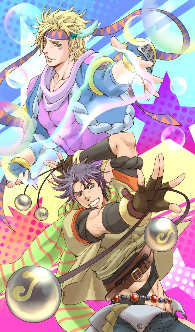 Jojo 39 s bizarre adventure season 2 battle tendency anime - Joseph joestar wallpaper ...