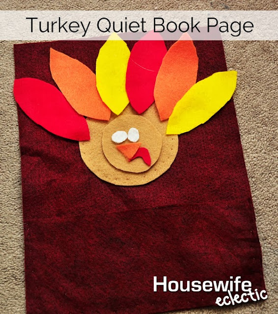 Thanksgiving Quiet Book