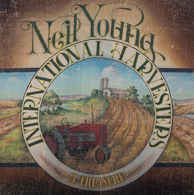 A Treasure - Neil Young album cover