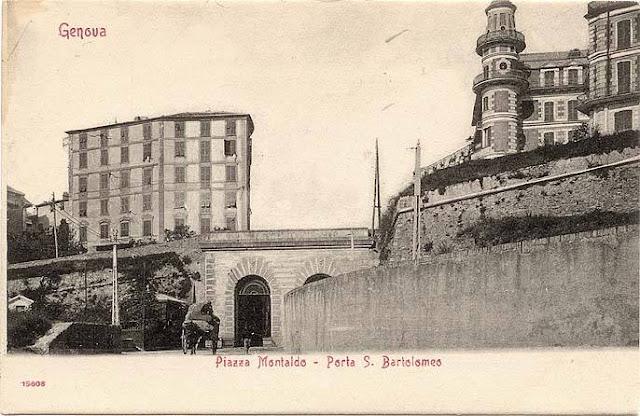 C 39 era una volta genova antica porta di san bartolomeo - Porta cartoline ...