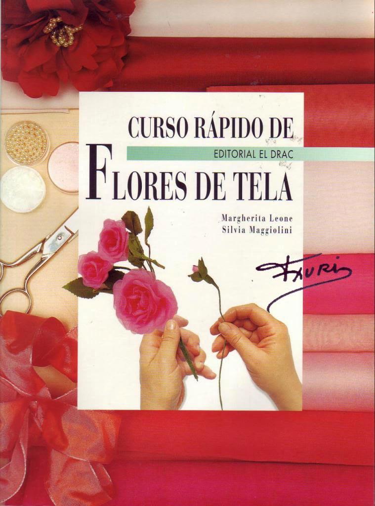 Como hacer flores en tela revistas de manualidades gratis - Como hacer manualidades de tela ...