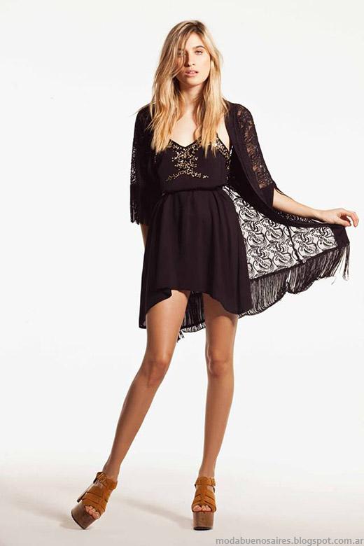 Kimonos 2015. Moda verano 2015 ropa de mujer casual chic.