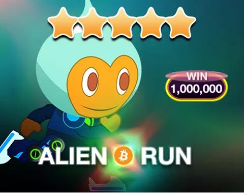Alien Run Bitcoins Games