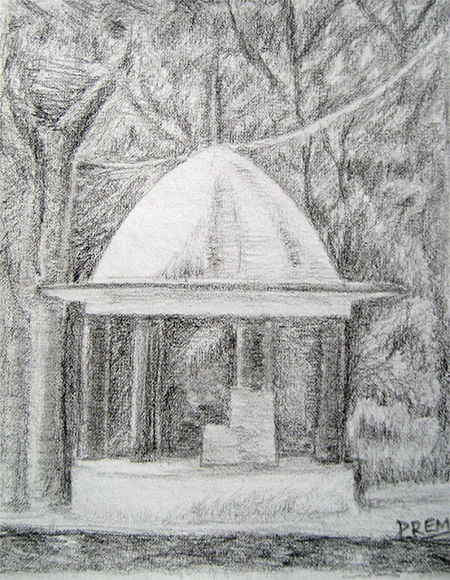 Sketch of a Unique Temple