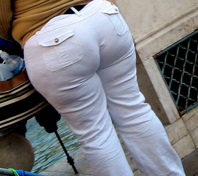 Ass In White Pants 13