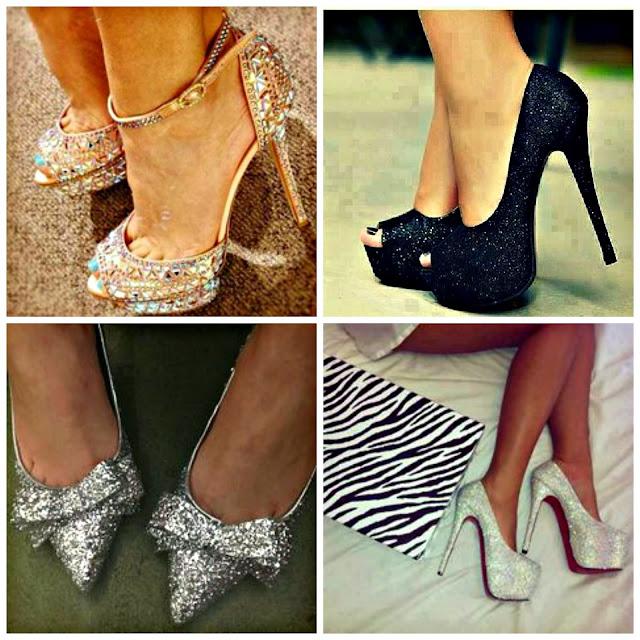 sparkly heels, vakwetushoelove, style tips