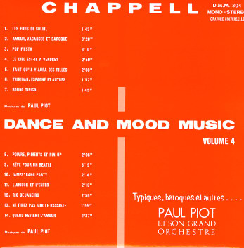 Various Chappell Mood Music Vol 12
