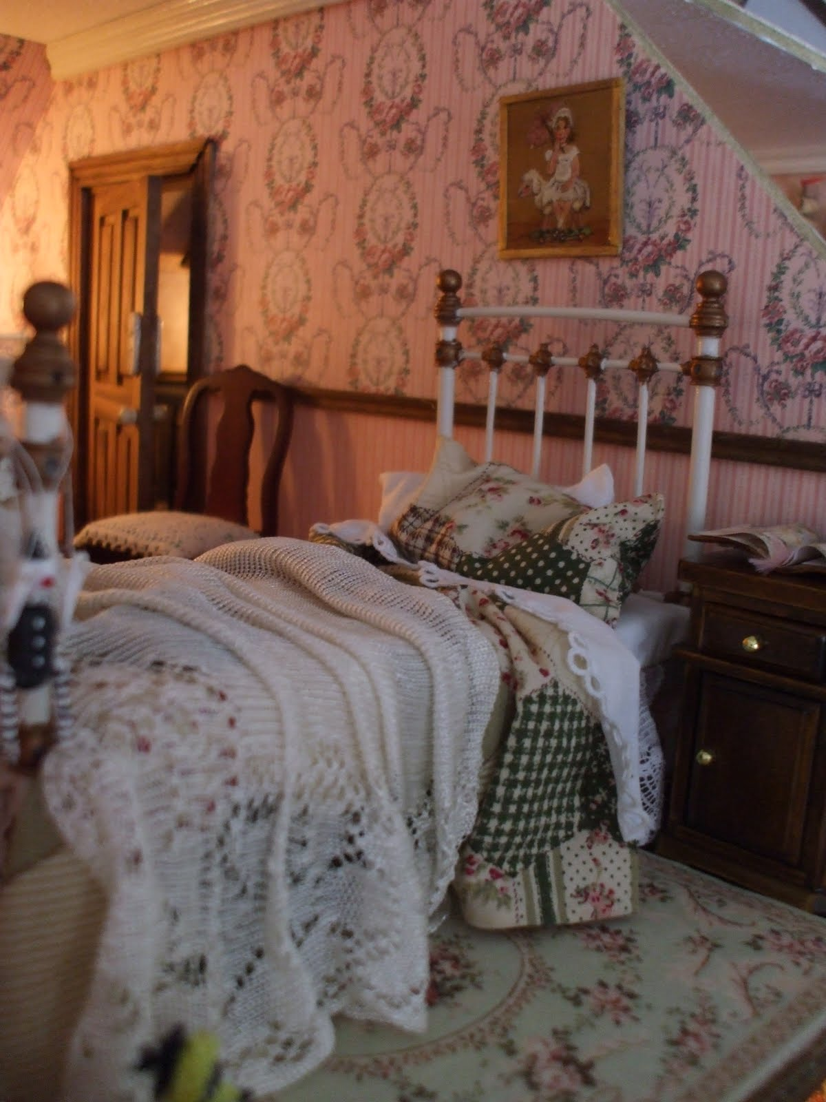 Diary Of An Edwardian Dolls House Belle 39 S Bedroom Work