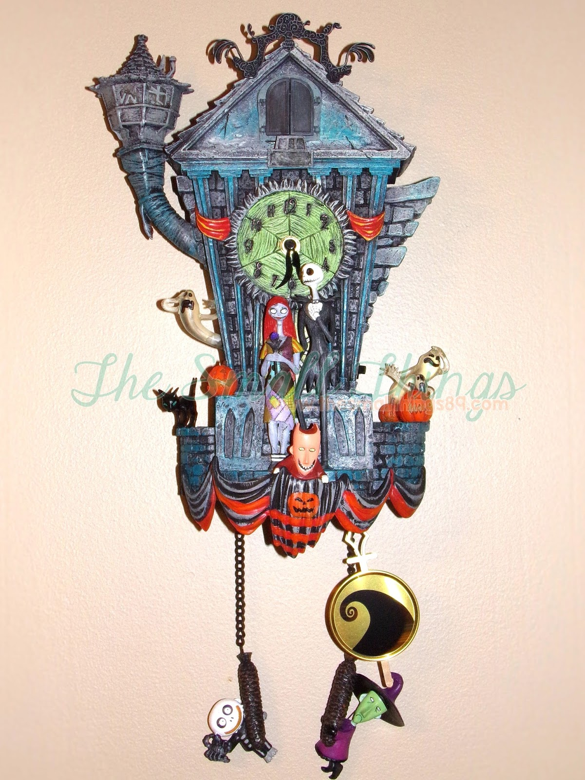 you have to see the nightmare before christmas cuckoo clock great gift idea too