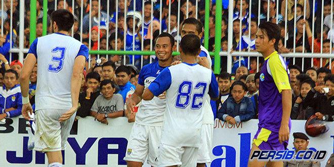 Persib Bandung vs PSGC 3-1 Laga Ujicoba