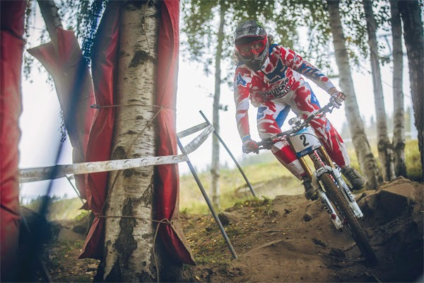 2014 Hafjell UCI World Championship Downhill: Josh 'Ratboy' Bryceland's Finals Run