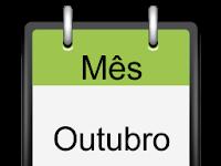 TODAS AS DATAS COMEMORATIVAS DO MÊS DE OUTUBRO