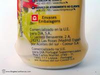 Aceites del Sur - Coosur fabrica la mayonesa tapón antigoteo DIA.