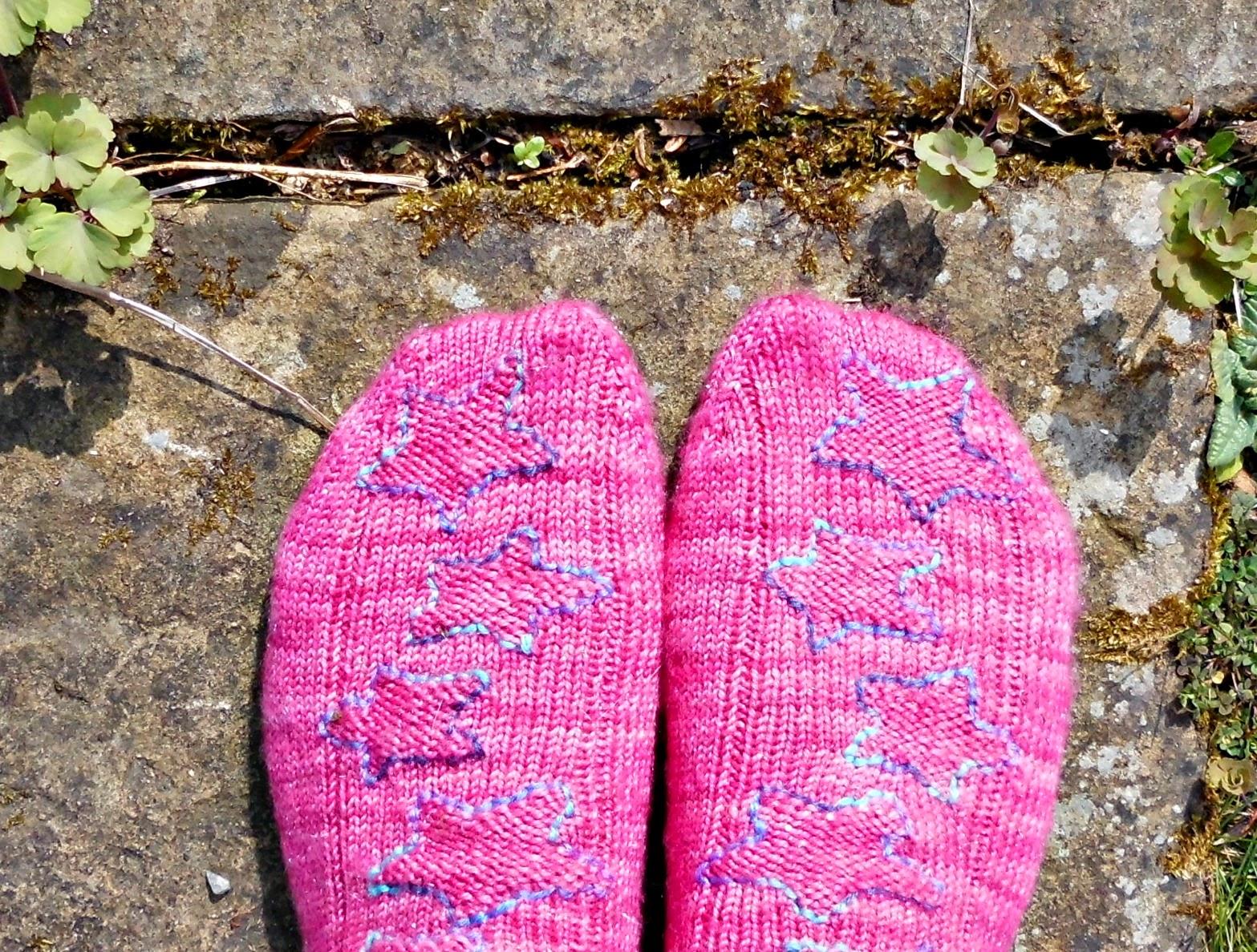 Twinkle Star socks