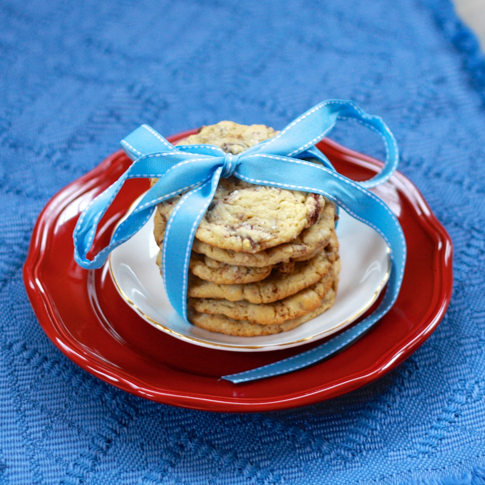 Don't skip out on the sea salt--it makes the cookie!