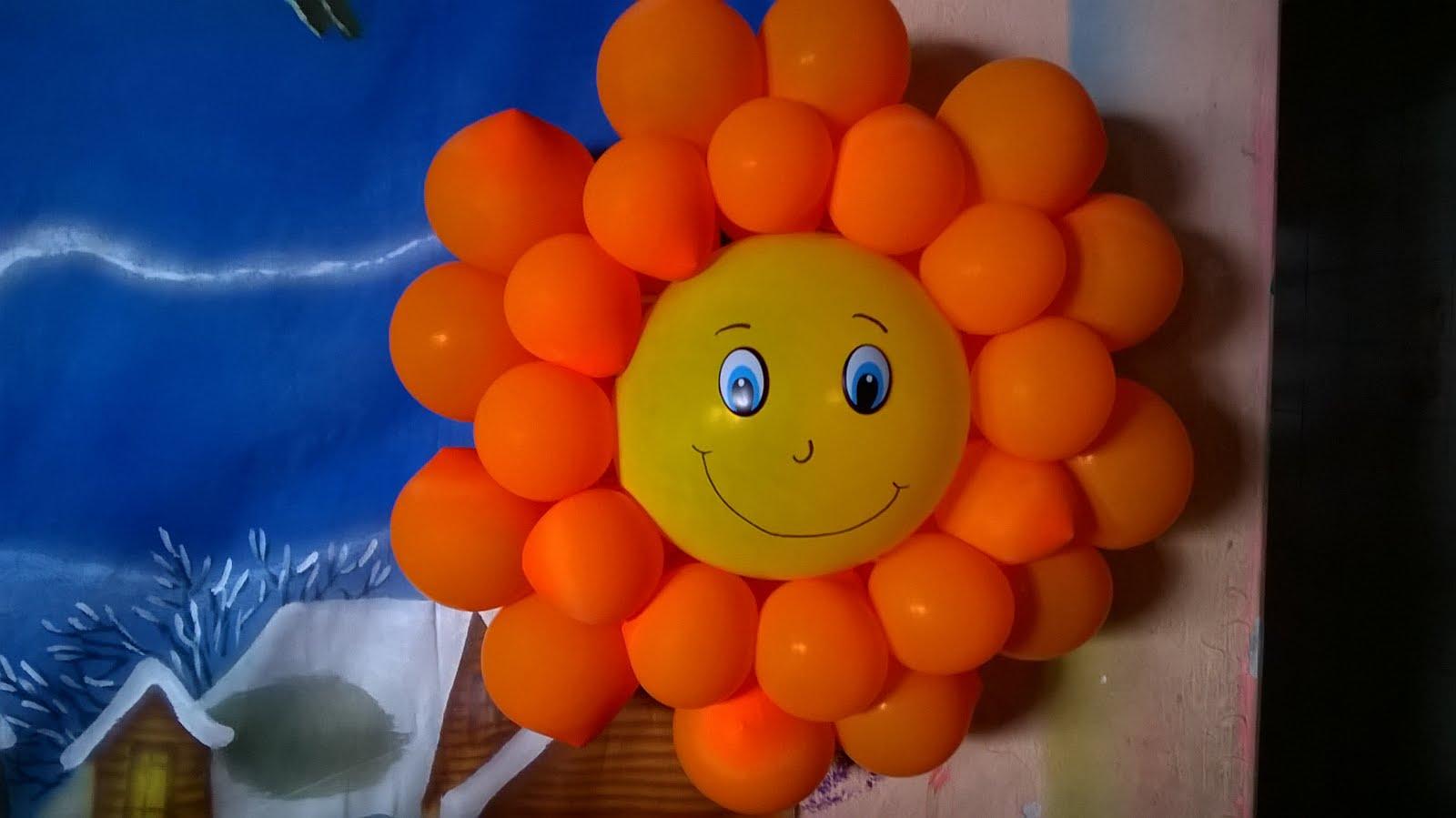 Sol de Balão Pequeno