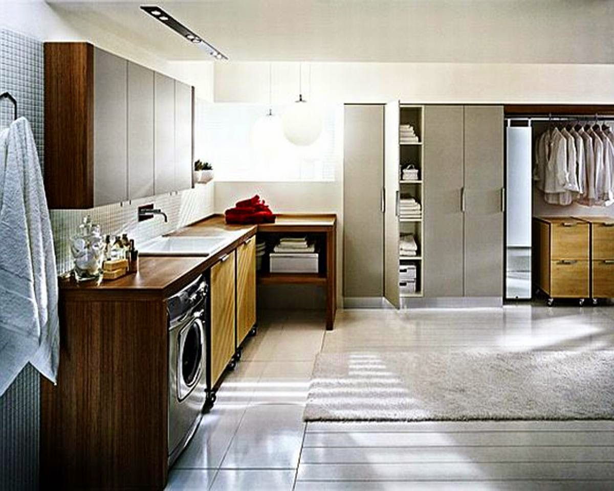 The Amazing Modern Laundry Room Design Ideas Photo