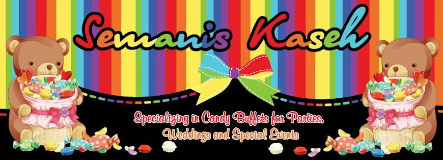 Candy Buffet by : Semanis Kaseh