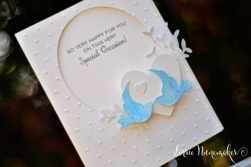 Lorrie S Story Wedding Card With Cricut Explore One And Pen