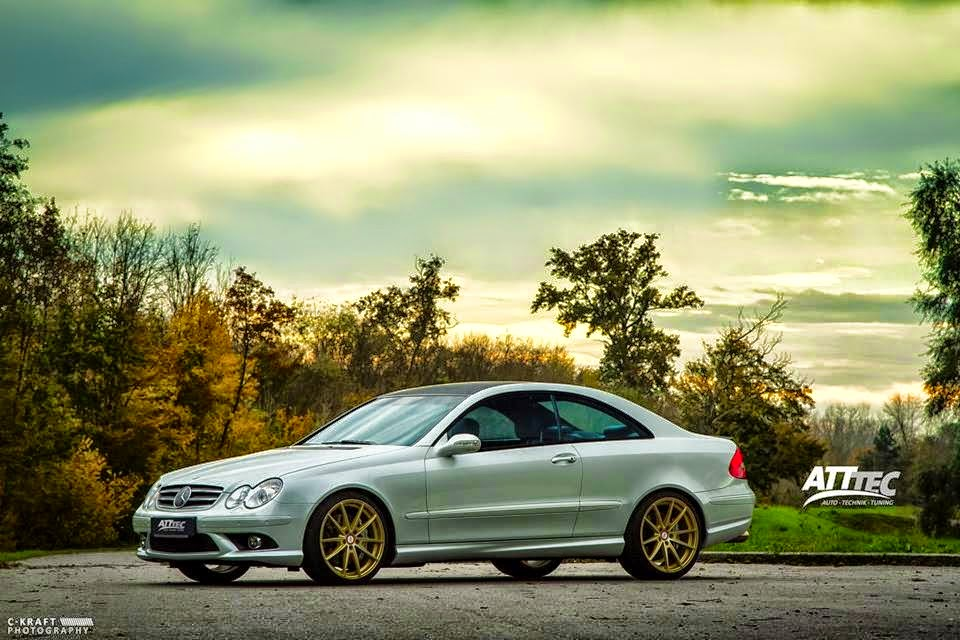 mercedes clk55 amg photo