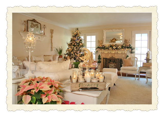 Préférence So beautiful things: SHABBY CHIC ON FRIDAY: Christmas in the air  YY12