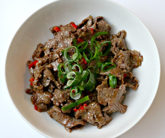 Milk and Honey: Hunan Beef with Cumin and Stir-Fried ...