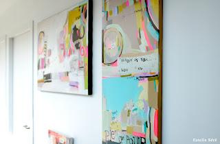 Peintures Estelle Séré - Exposition Gallering 2012