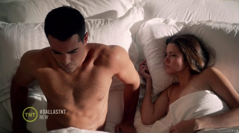 Jesse Metcalfe Shirtless in Dallas s1e04