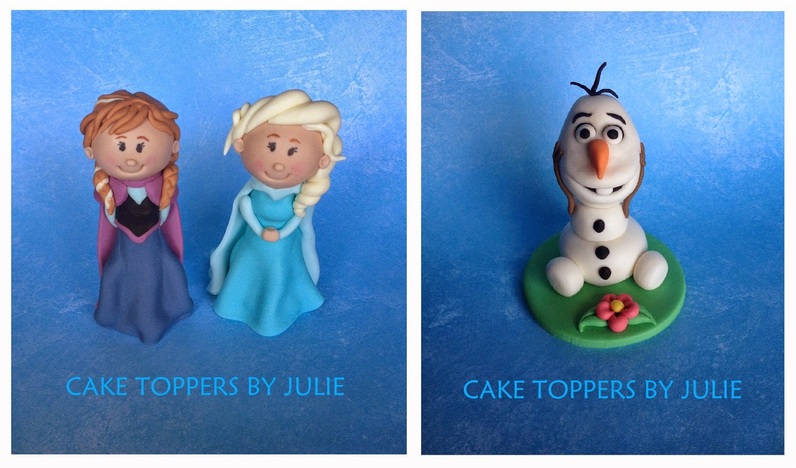 Frozen Figurines Cake Toppers Sydney