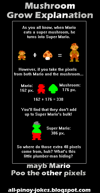 17 of the Greatest Super Mario Bros Jokes and Parodies | Walyou