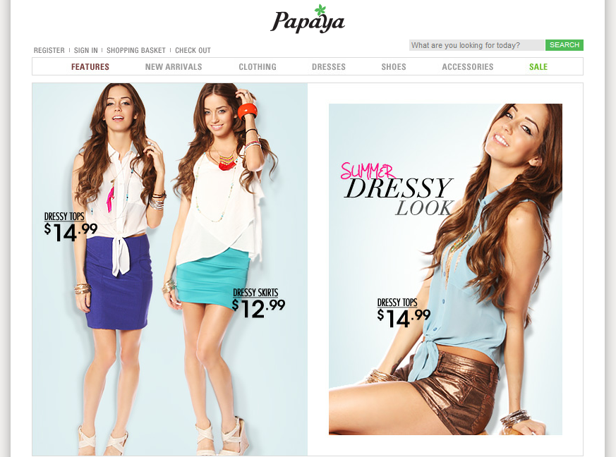 Papaya Clothing - Another Store Like Forever 21