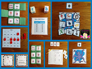 Short Vowel Activity Pack
