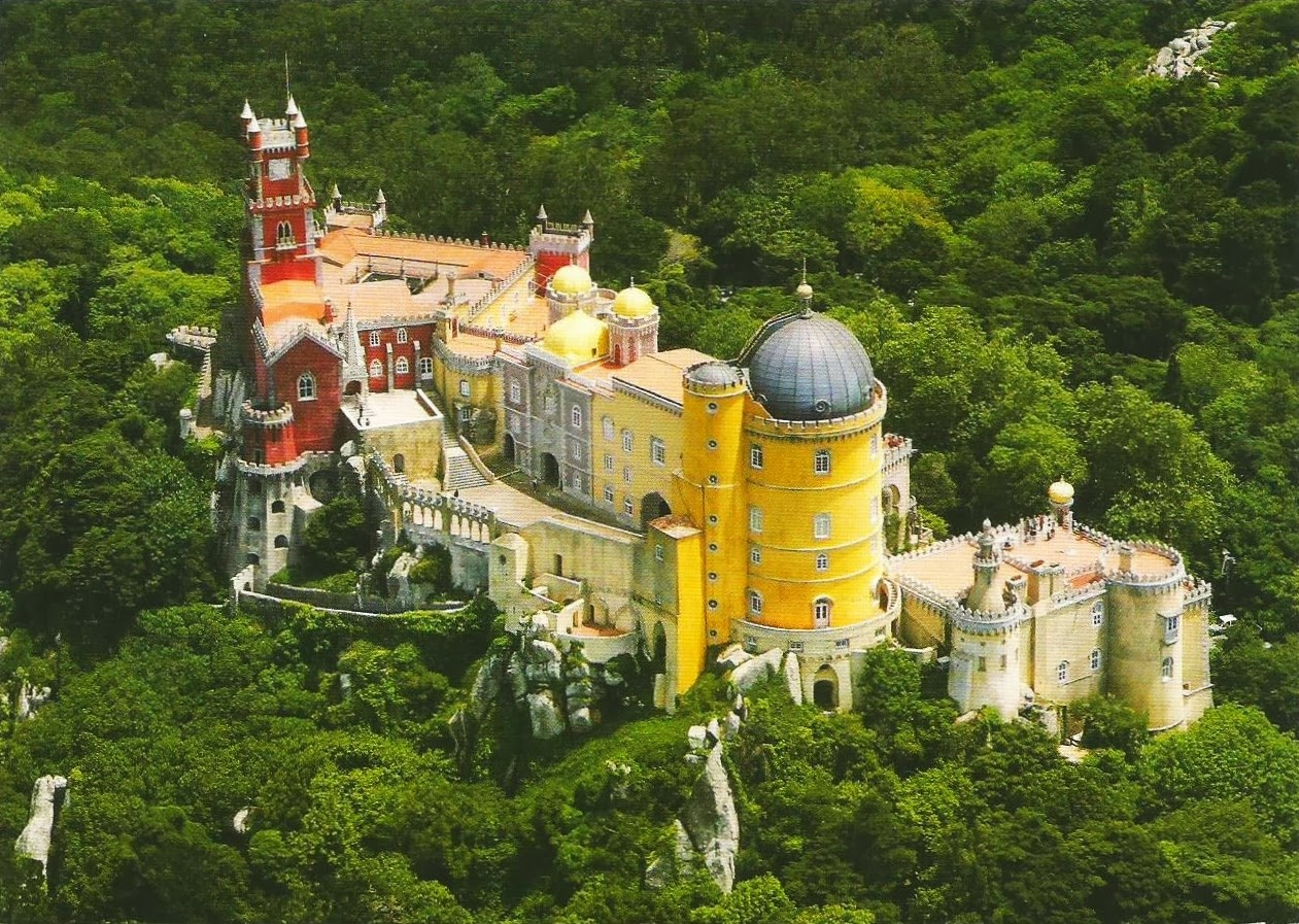 Postcards On My Wall Cultural Landscape Of Sintra Portugal UNESCO