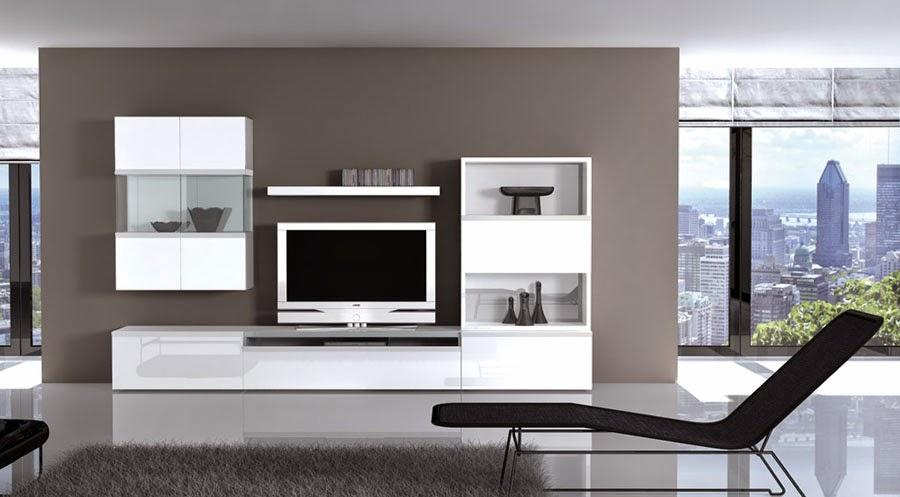 Muebles modernos de sal n for Muebles de salon lacados