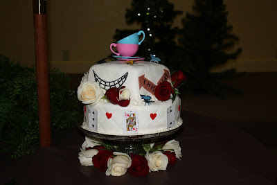 cakes by victoria clare alice in wonderland baby shower cake