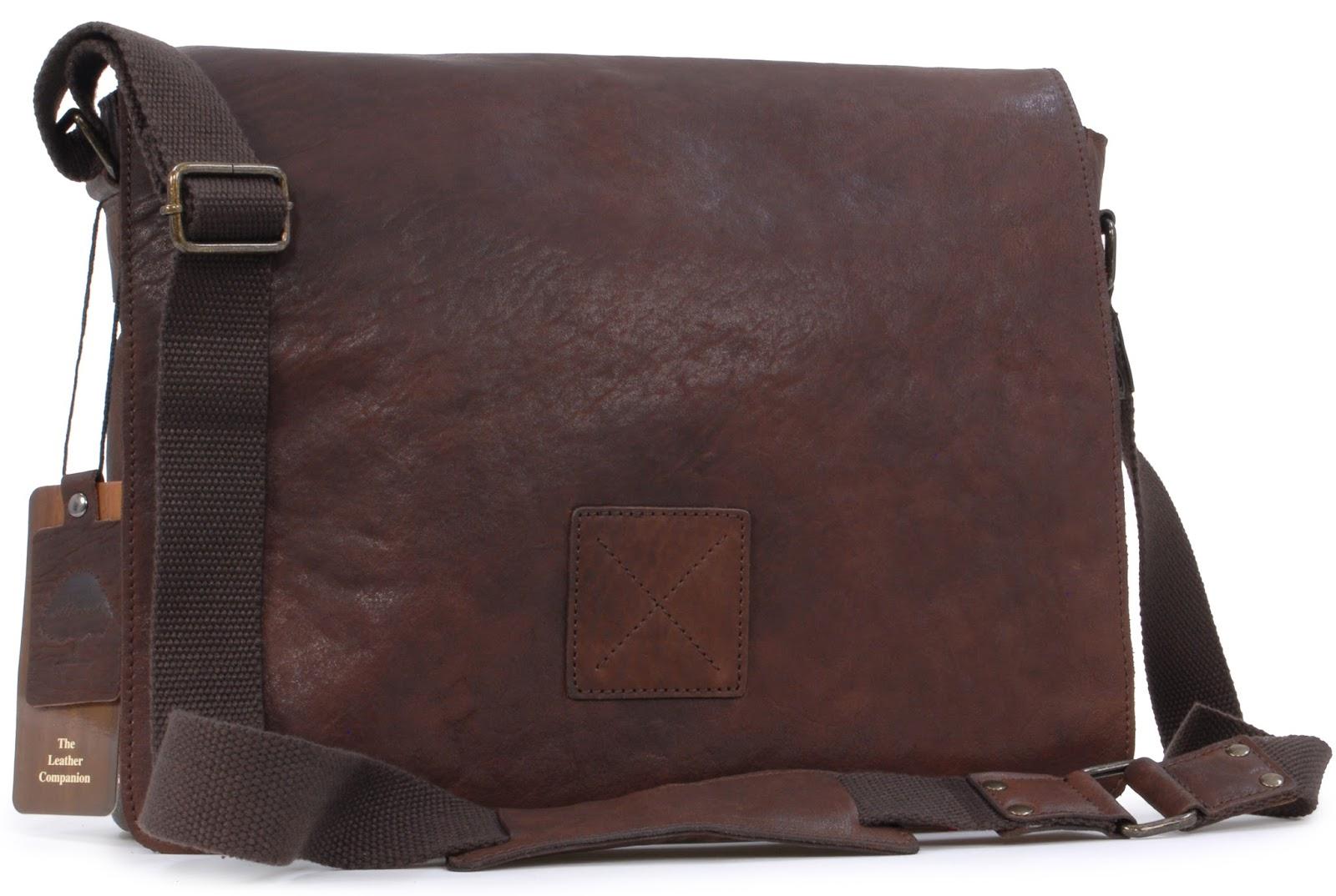 The Real Handbag Shop Blog: Amazing New Leather Messenger Bag for ...