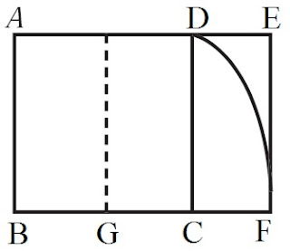 persegi panjang ABCDEFG